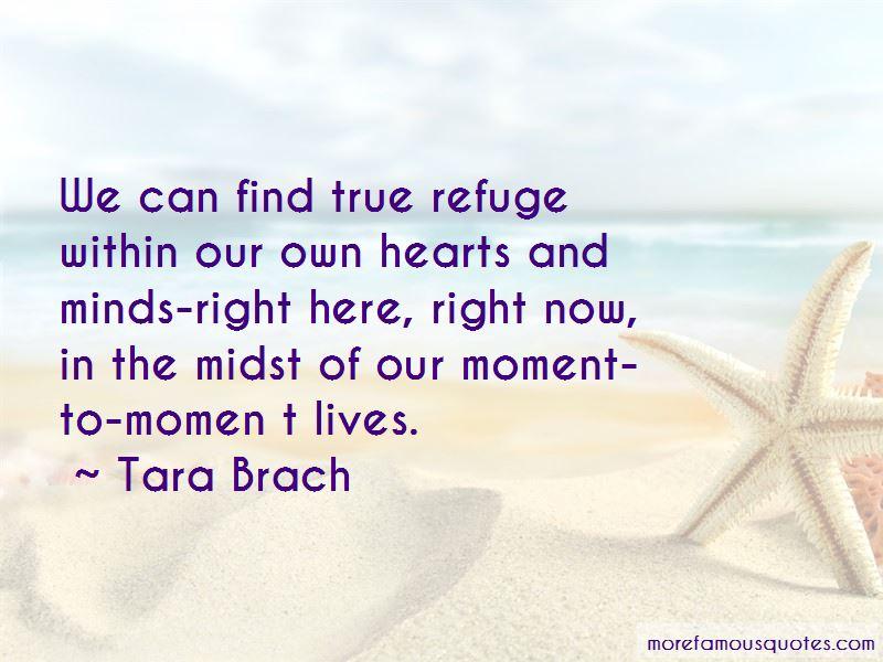 True Refuge Quotes