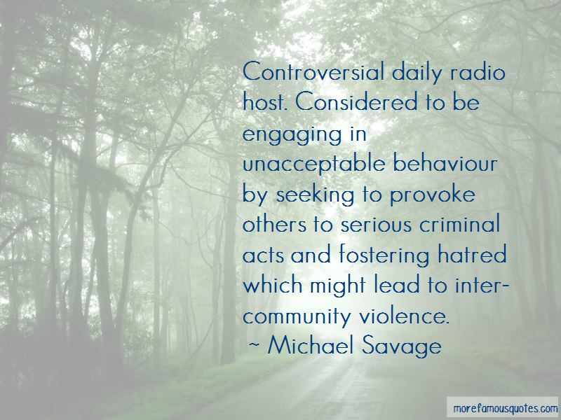 Unacceptable Behaviour Quotes Pictures 2