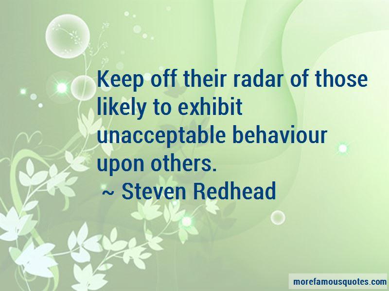 Unacceptable Behaviour Quotes Pictures 3