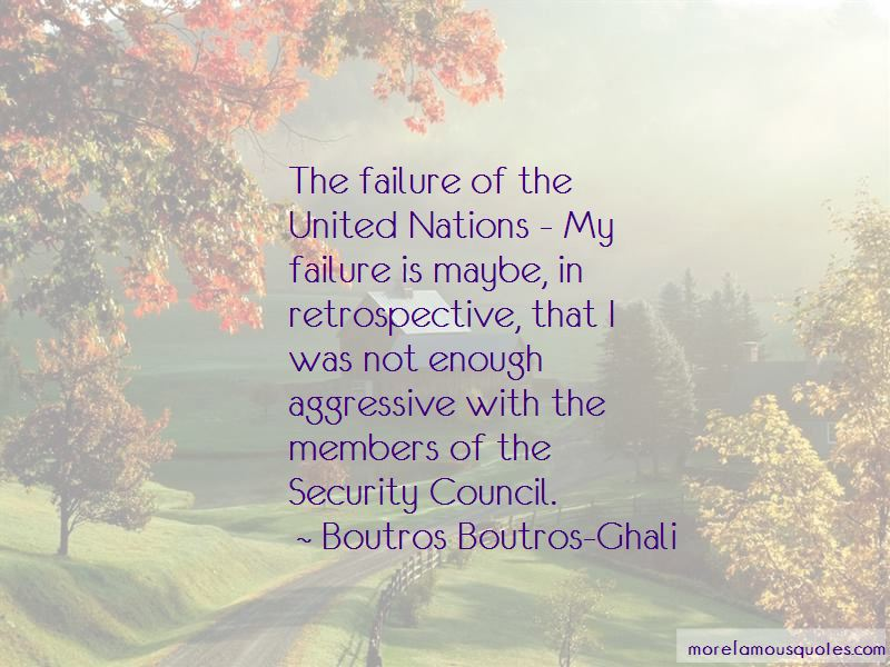 United Nations Failure Quotes