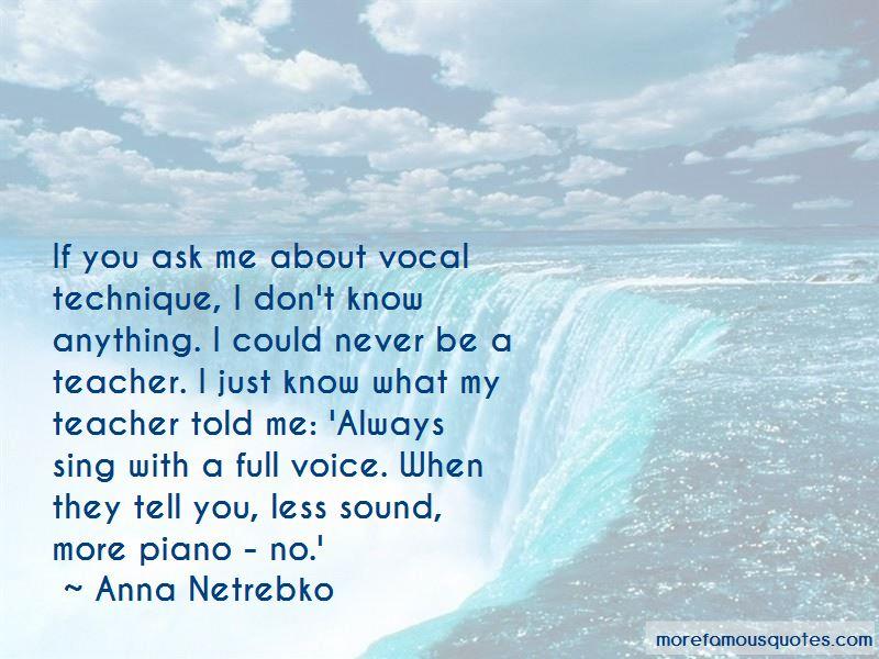 Vocal Teacher Quotes Pictures 3