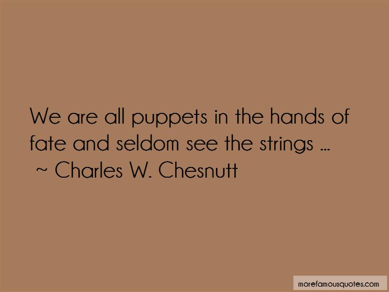 We Are All Puppets Quotes Pictures 2