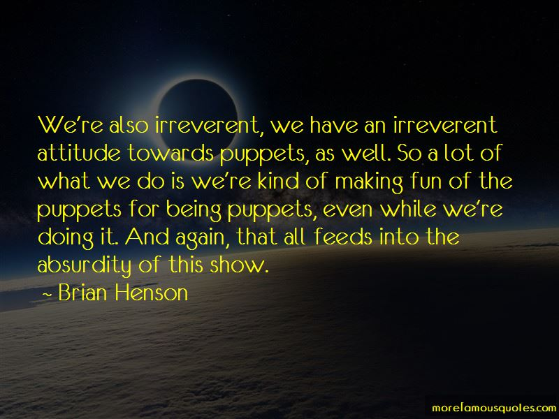 We Are All Puppets Quotes Pictures 3