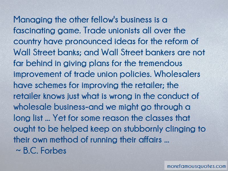 Wholesale Business Quotes