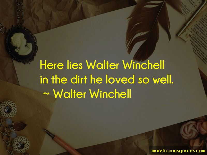 Winchell Quotes Pictures 2