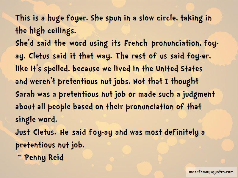 Word Pronunciation Quotes