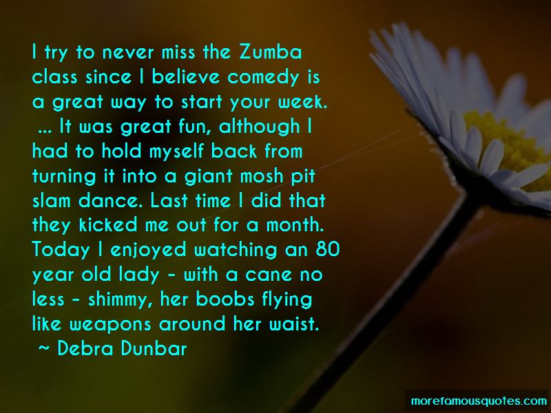 Zumba Time Quotes