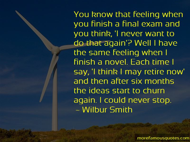 After Final Exam Quotes