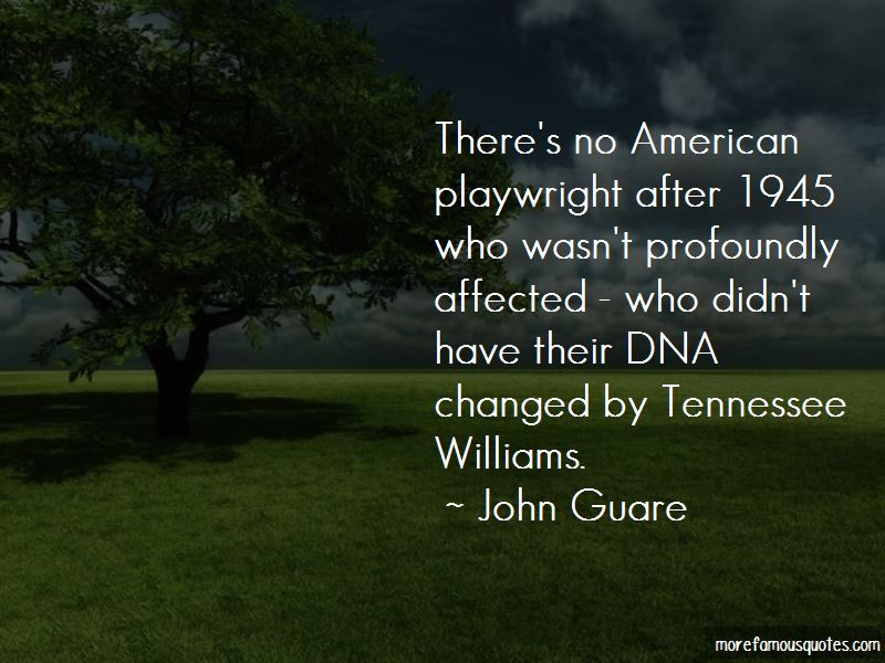 American Playwright Quotes