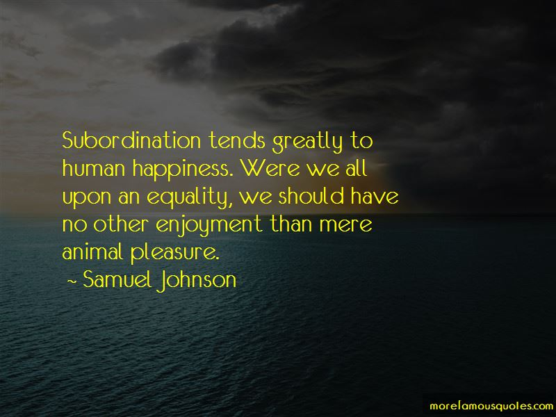 Animal And Human Equality Quotes