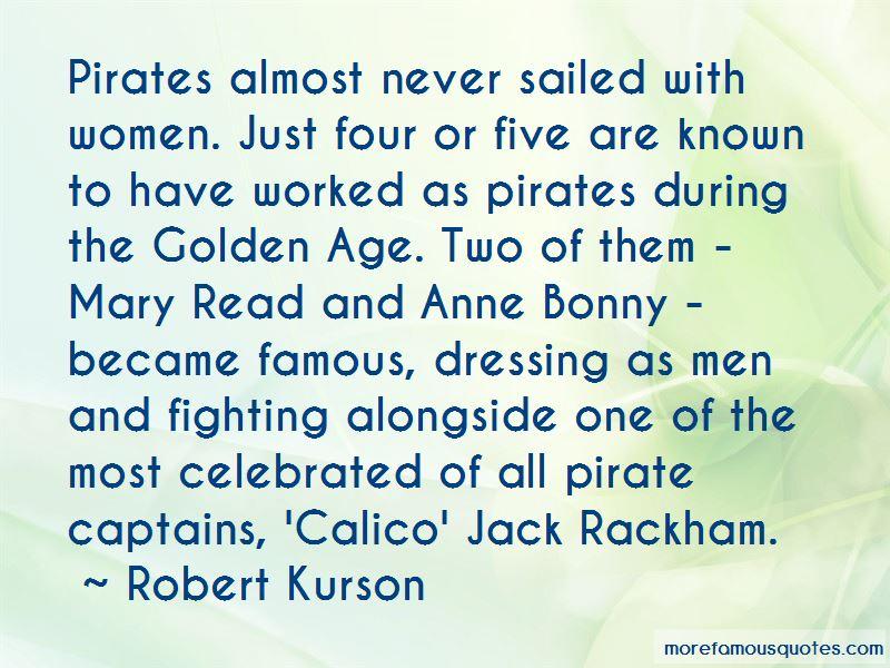 Anne Bonny Famous Quotes