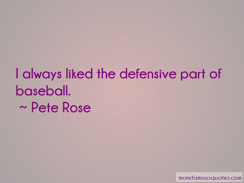 Baseball Defensive Quotes
