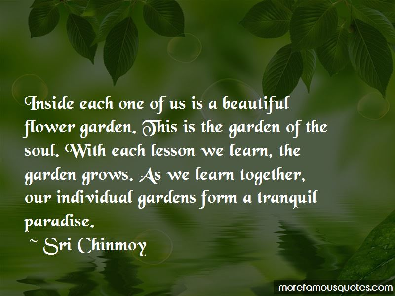 Beautiful Flower Garden Quotes