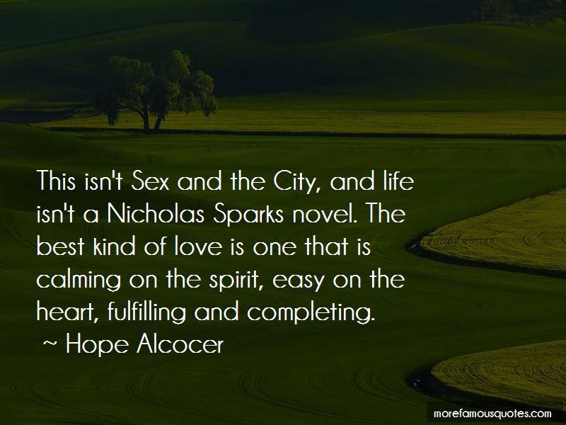 Best Nicholas Sparks Quotes