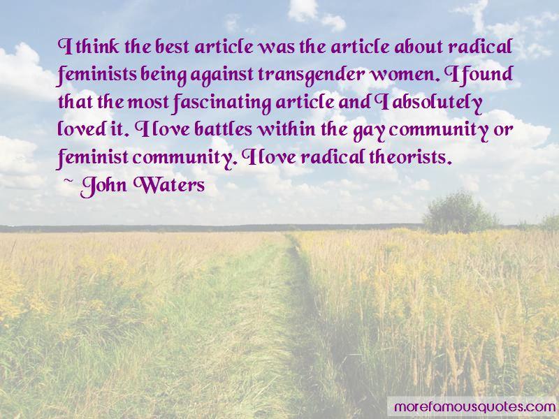 Best Radical Feminist Quotes