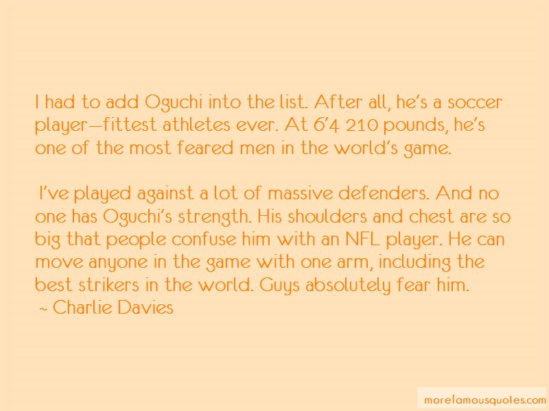 Big Game Player Quotes