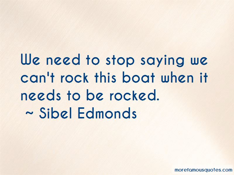 Boat That Rocked Quotes Pictures 3