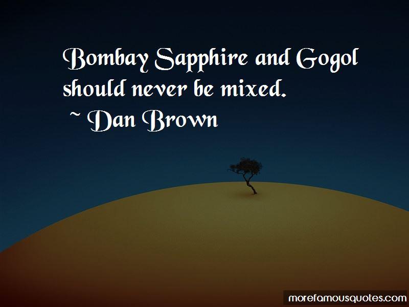 Bombay Sapphire Quotes