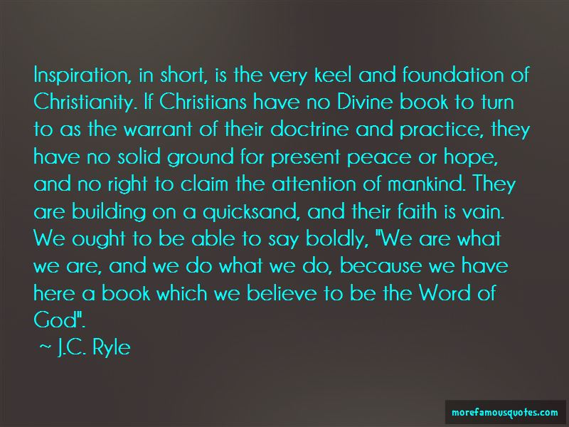 Building Solid Foundation Quotes Pictures 3
