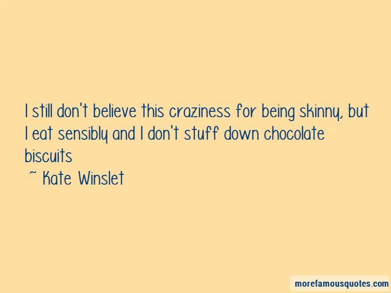 Chocolate Biscuits Quotes