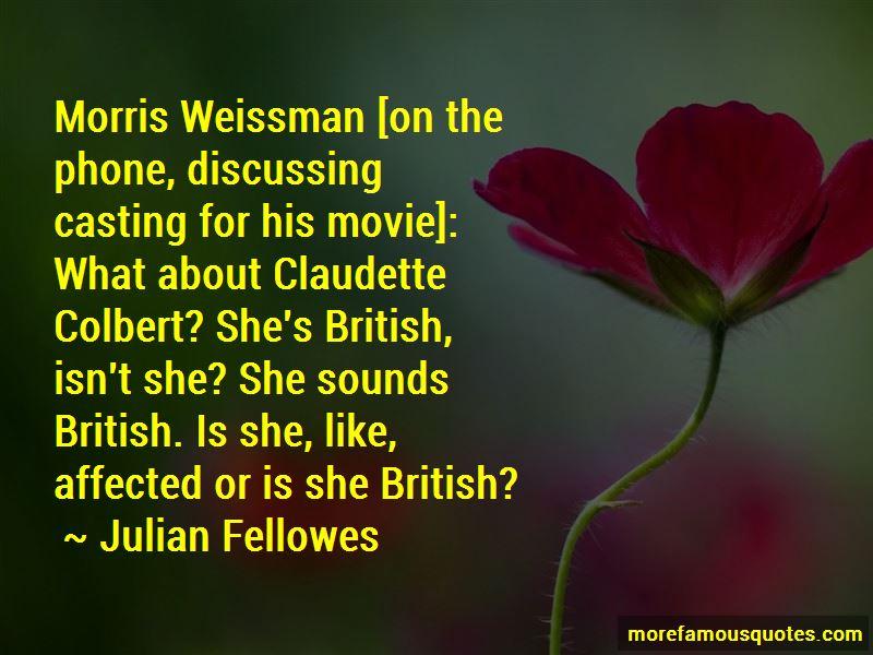Claudette Colbert Movie Quotes
