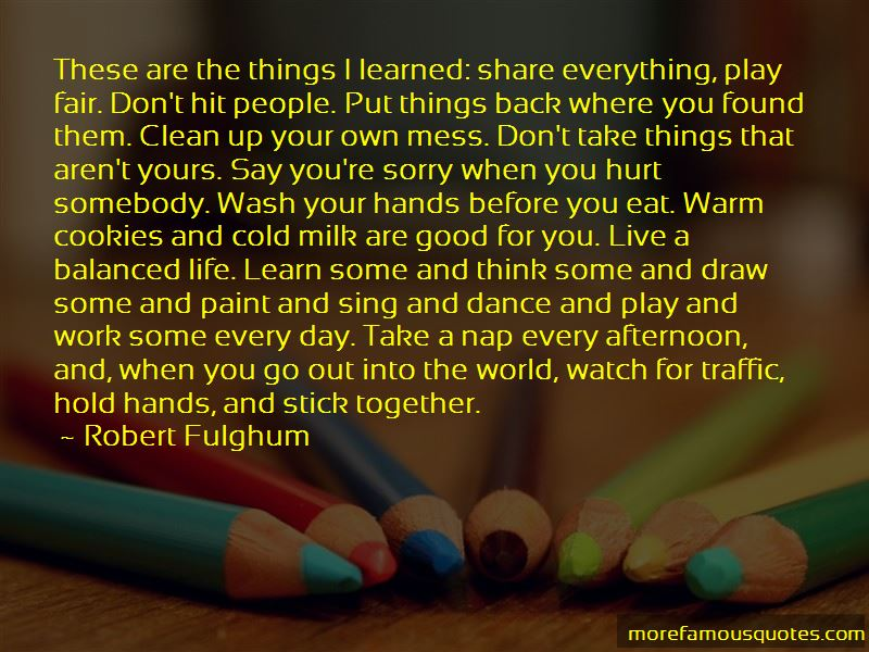 Clean Up Your Mess Quotes Pictures 3