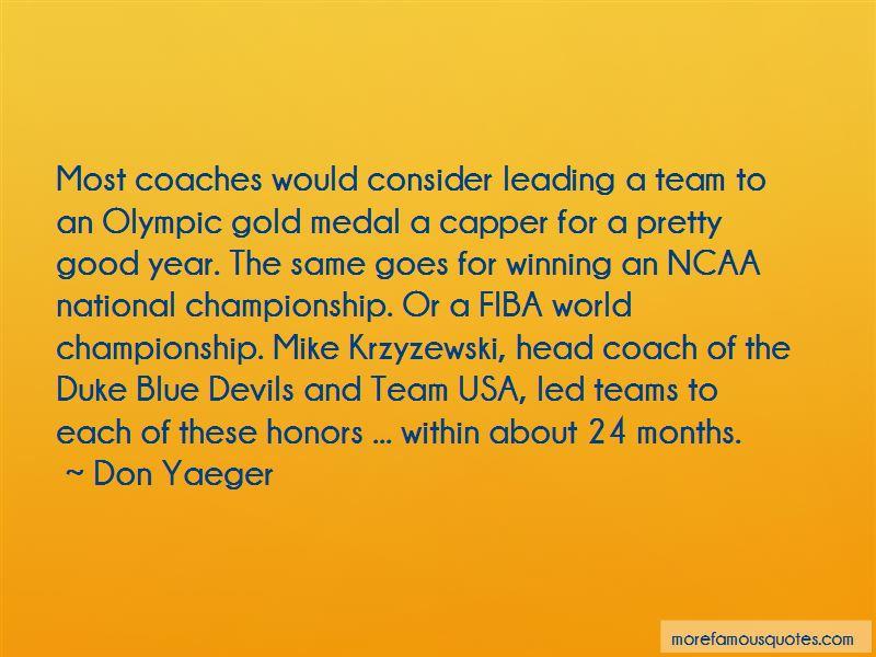 Coach Mike Krzyzewski Quotes Pictures 2
