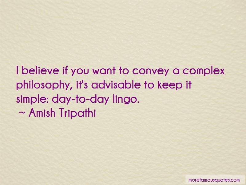 Complex Philosophy Quotes