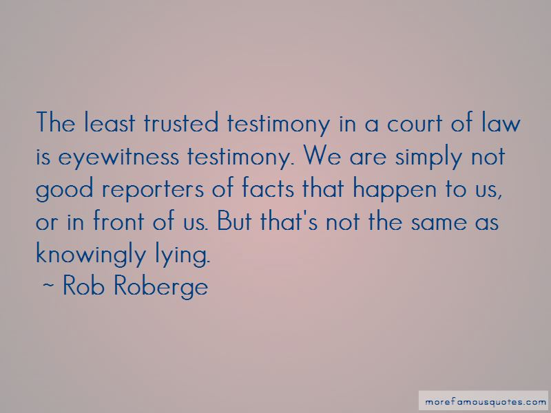 Court Testimony Quotes Pictures 2