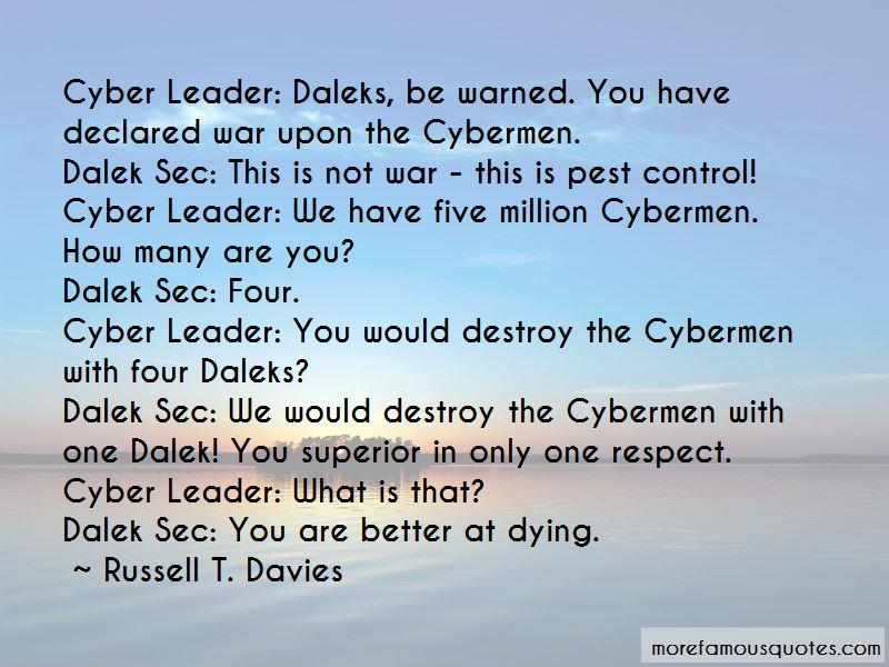 Dalek Sec Quotes