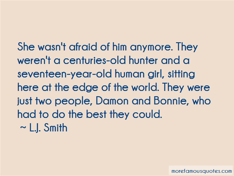 Damon And Bonnie Quotes