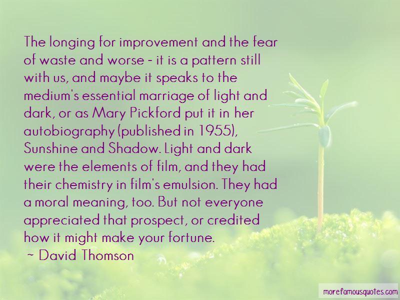 Dark Shadow Film Quotes