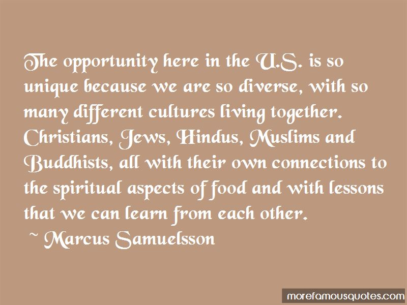 Diverse Food Quotes