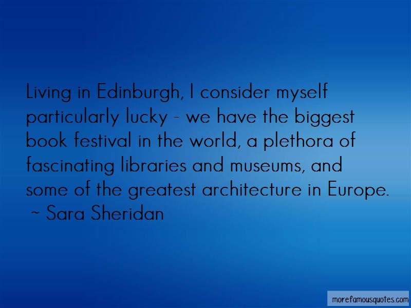Edinburgh Architecture Quotes