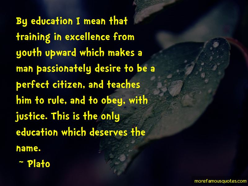 Education Makes A Man Perfect Quotes