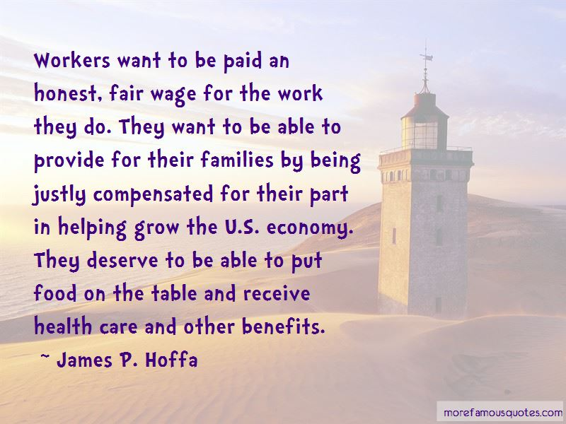 Fair Wage Quotes Pictures 3