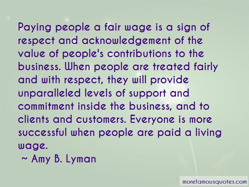 Fair Wage Quotes