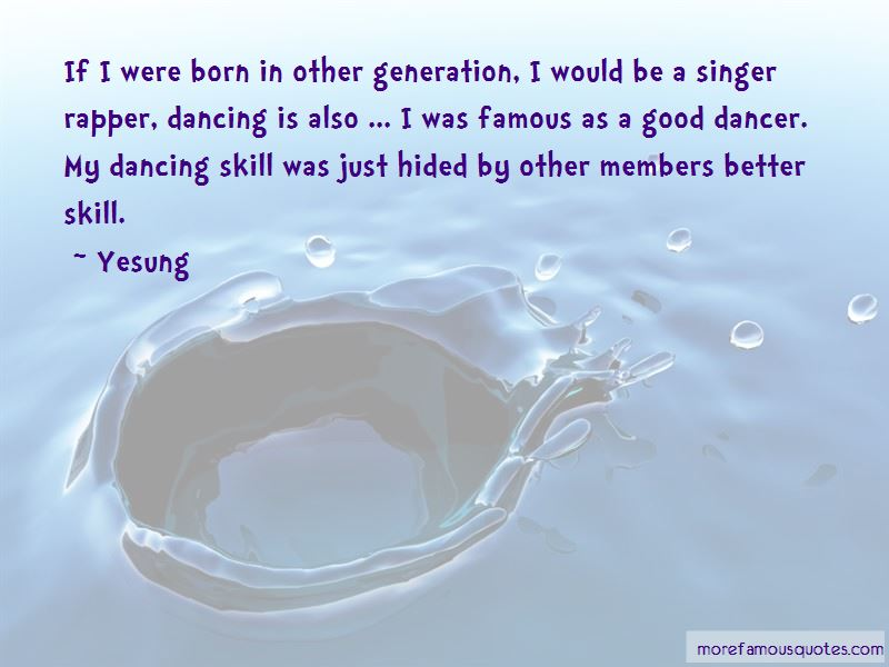Famous Dancer Quotes