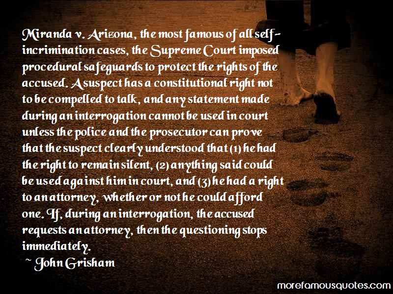 Famous Prosecutor Quotes
