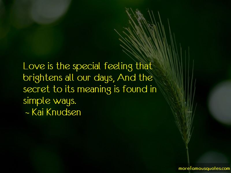 Feeling Special Love Quotes Pictures 2