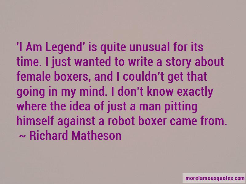 Female Boxers Quotes