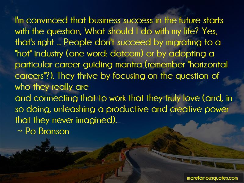 Focusing On Career Quotes Pictures 2