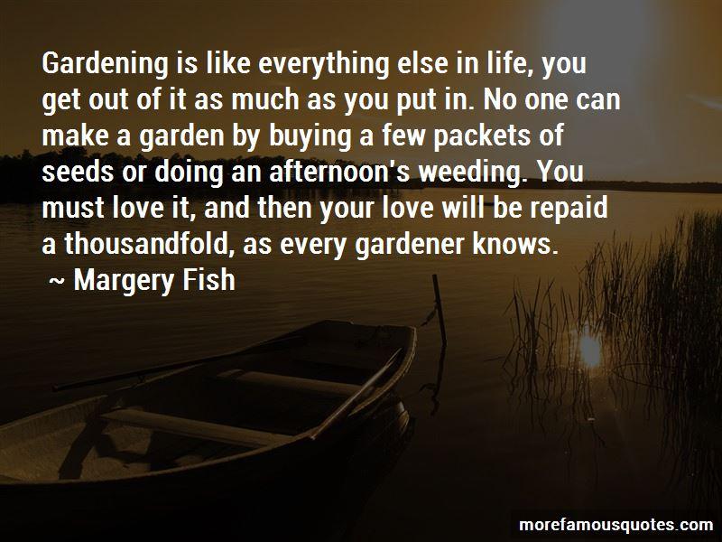 Gardener Love Quotes