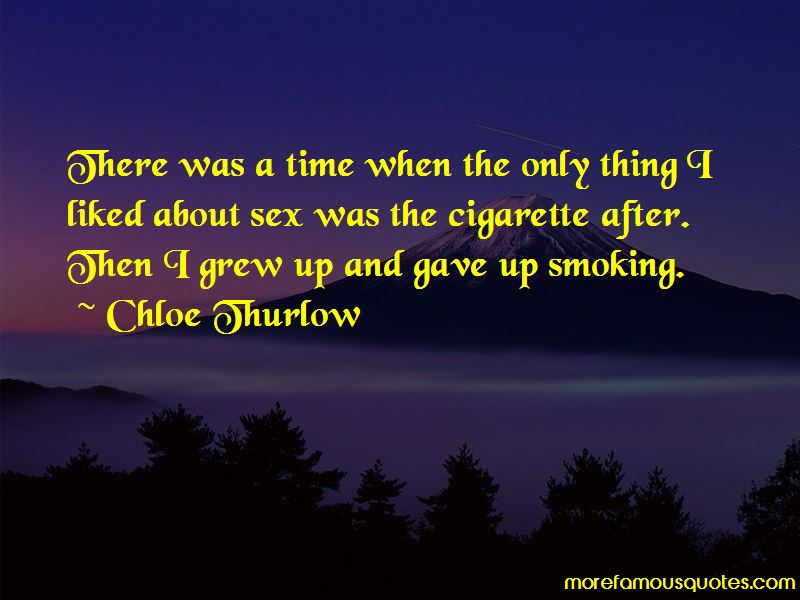 Gave Up Smoking Quotes