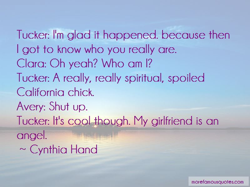 Glad Girlfriend Quotes