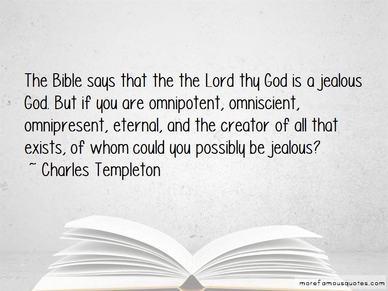 God Is Omniscient Bible Quotes