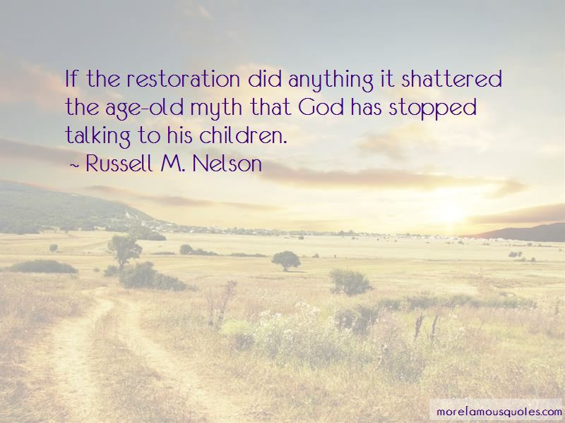 God Of Restoration Quotes Pictures 3
