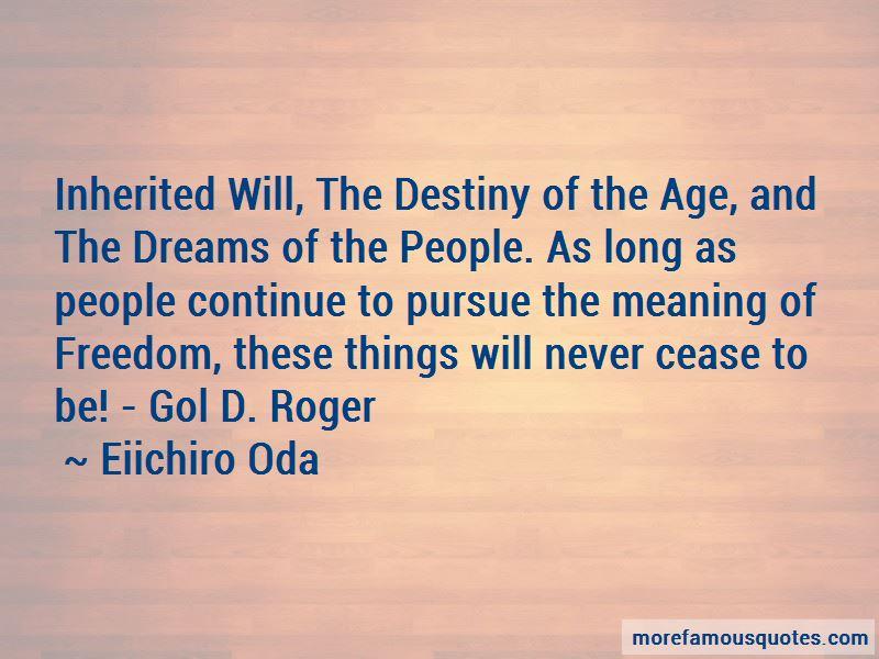 Gol D Roger Quotes
