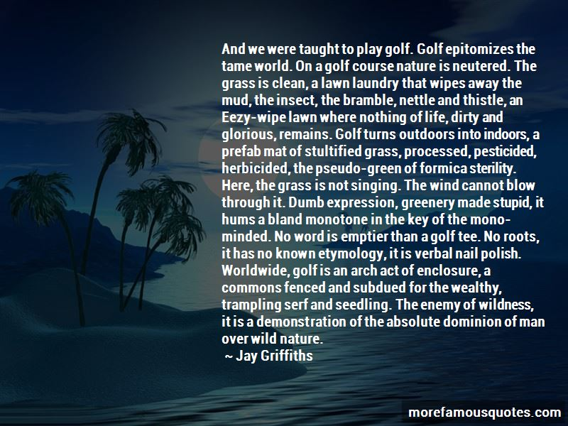 Golf Tee Quotes