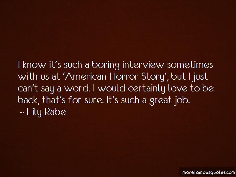 Great Job Interview Quotes Pictures 3